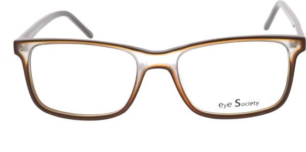 Eye Society Unisex Brille Kunststoff braun