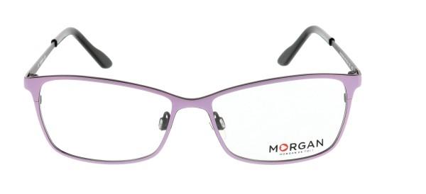 Morgan Damen Metallbrille rosa lila
