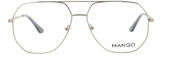 Mango Herren Metallbrille silber 196111