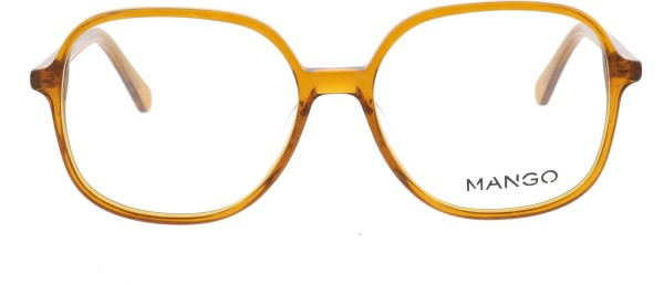 Mango Retro Damenbrille braun 200321