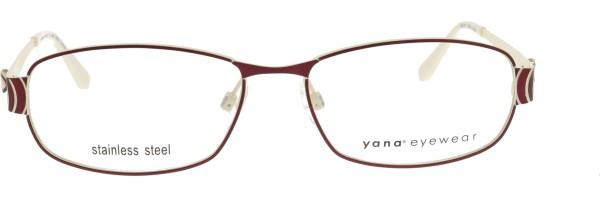 BoDe Design Yana Damen Metallbrille rot weiß 2171