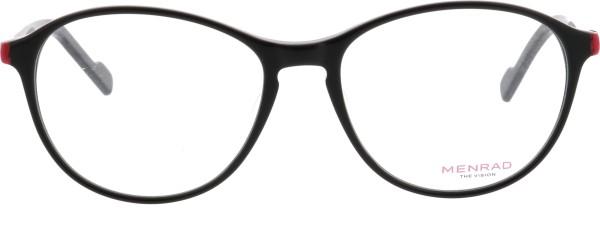 klassische Damen Menrad Kunststoffbrille schwarz rot 11094