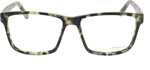 Liebeskind Berlin Unisex Brille schwarz grün 11022