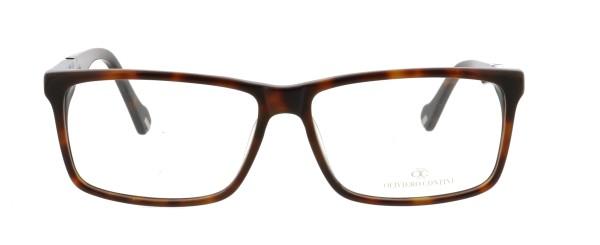Oliviero Contini Herren Kunststoffbrille havanna blau 4161