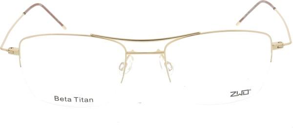 ZWO Herren Titanbrille Leichtigkeit gold