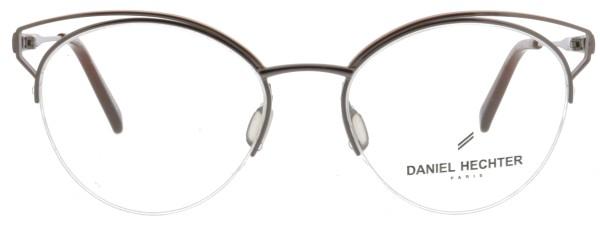 stylische Daniel Hechter Damen Halbrandbrille in grau braun DHM191