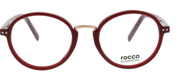 Rodenstock Marke Rocco Unisex Brille rot 455B