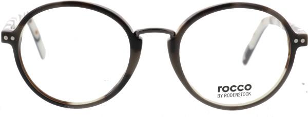 Rodenstock Marke Rocco Anthony Unisex Brille schwarz weiß 455