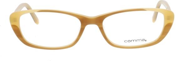 Comma Retro Damenbrille beige 70002