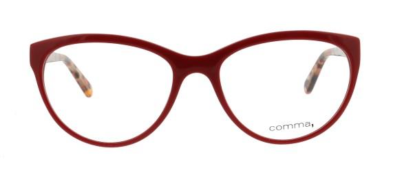 Comma Damen Kunststoffbrille rot 70009