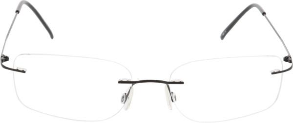 Breitfeld & Schlieckert Unisex randlose Titanbrille schwarz
