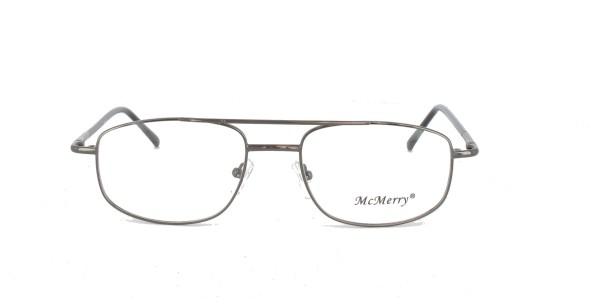 Memory Herrenbrille Metall Vollrand M-103-06