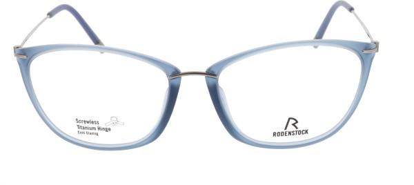 Rodenstock Damenbrille blau Schmetterlingsform 7066