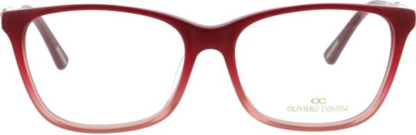 Oliviero Contini Damen Kunststoffbrille rosa pink 4168