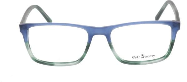Eye Society Unisex Kunststoffbrille blau grün Brush 84