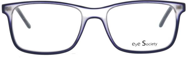 Eye Society Damen Kunststoffbrille blau kristall 811