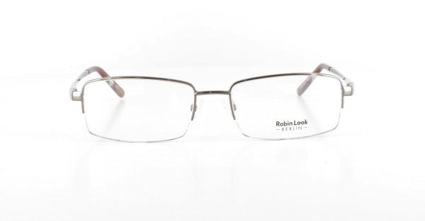 Robin Look Herrenbrille Metall Halbrand RL-159-01