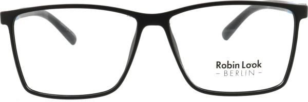 Robin Look Kollektion Herren Kunststoffbrille eckig schwarz blau 028