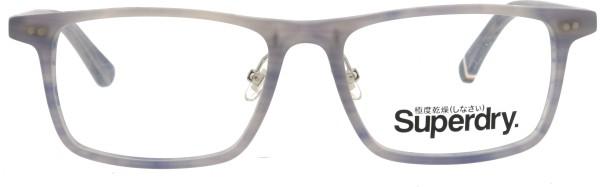 stylische Herren Kunststoffbrille von Superdry Orson in grau 108