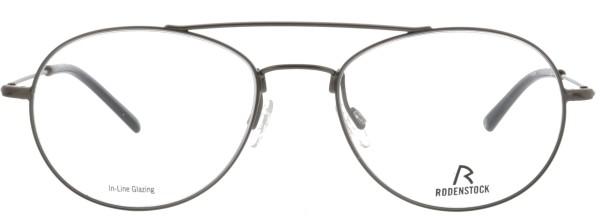 Retro Herren Pilotenbrille aus Metall von Rodenstock in grau glänzend 2619B