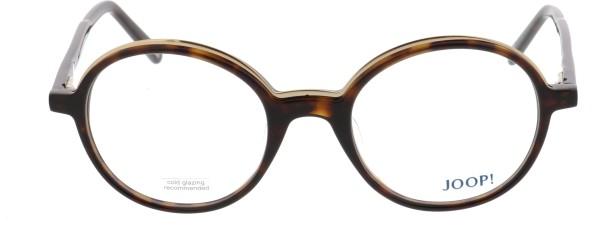 JOOP Unisex Kunststoffbrille havanna rund
