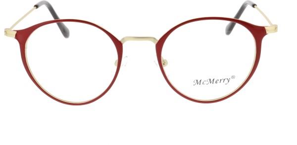 Mc Merry Unisex Pantobrille rot gold ST413-77