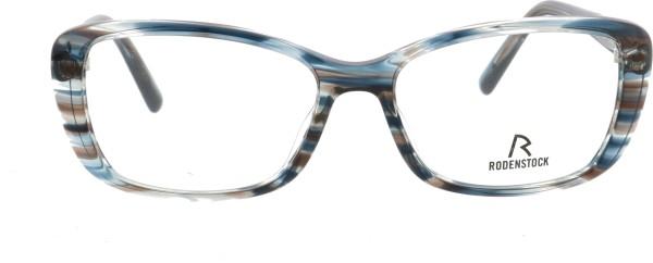 Rodenstock Damen Kunststoff Schmetterlingsbrille blau transparent 5332