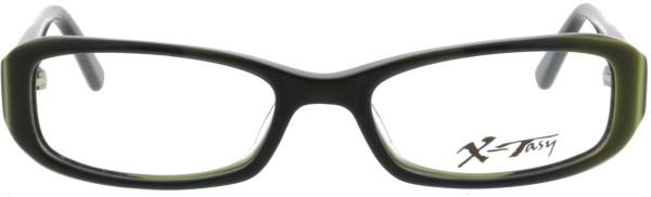 tolle kleine Lesebrille X-Tasy für in schwarz grün 2125