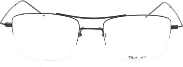 Lightfly Herren Titan Halbrandbrille blau JM 38