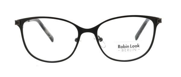 Robin Look Kollektion Damen Metallbrille schwarz grau UN646