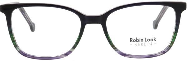 Robin Look Kollektion Unisex Kunststoffbrille blau grün lila UNX009