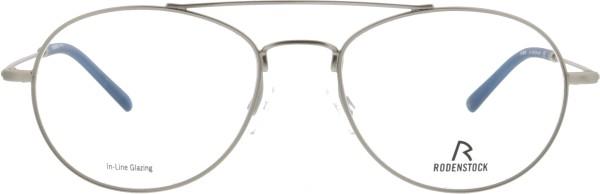 Retro Herren Pilotenbrille aus Metall von Rodenstock in silber 2619D