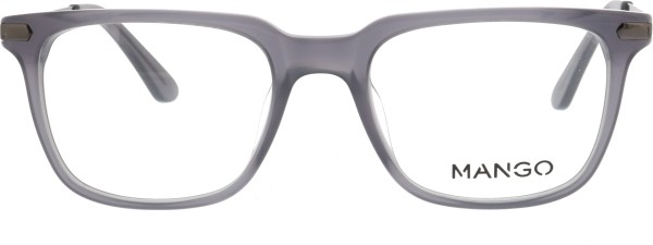 Mango Herren Kunststoffbrille grau 1961330