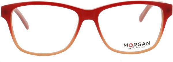 farbenfrohe Morgan Damen Kunststoffbrille 201101 rot orange