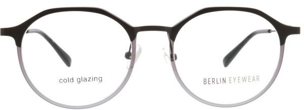 tolle Berlin Eyewear Unisex Brille rund in grau 148