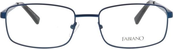 zeitlos elegante Fabiano Herren Metallbrille in blau 243