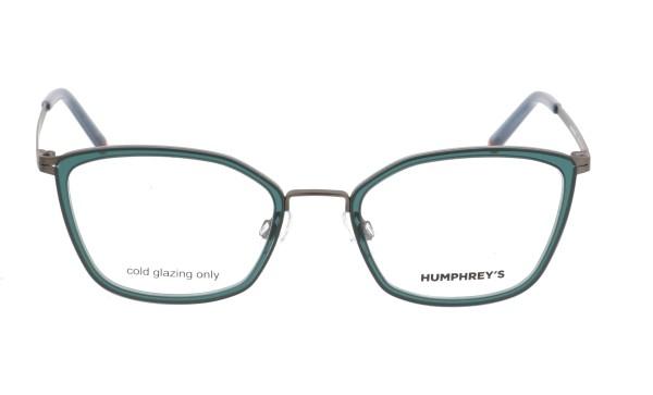 Damenbrille Humphreys Cateye grün 581062