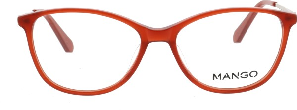 Mango Damen Kunststoffbrille rot kristall 201819