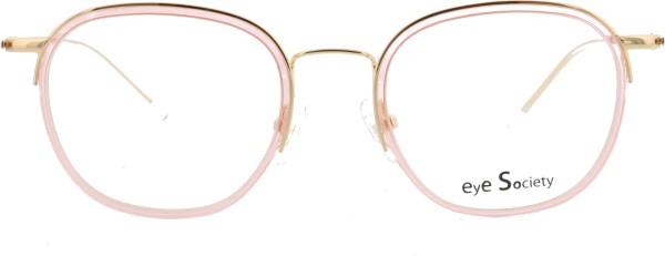 Eye Society Damenbrille gold rosa transparent 10-C2