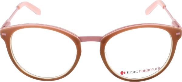 Kioto Nakamura Damenbrille rosa braun KN-673