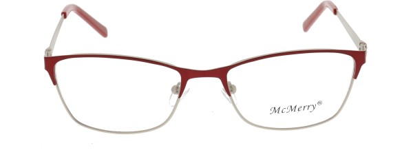 Mc Merry Damen Metallbrille rot ST408